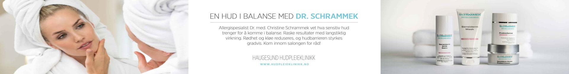 reklame for Haugesund Hudpleieklinikk