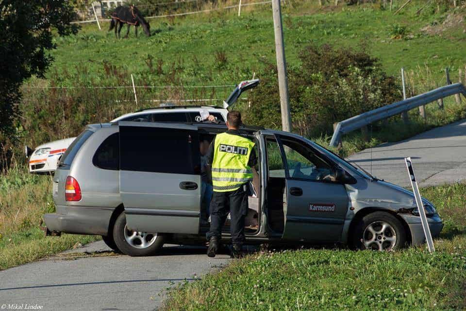 Karmsund avis bil ulykke