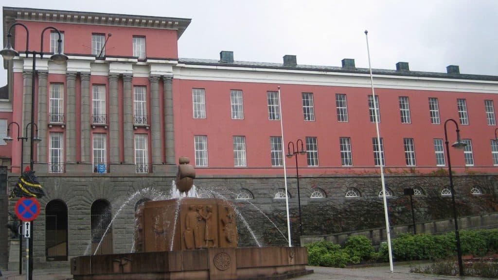 Rådhuset i Haugesund. FOTO: Kjell Bua