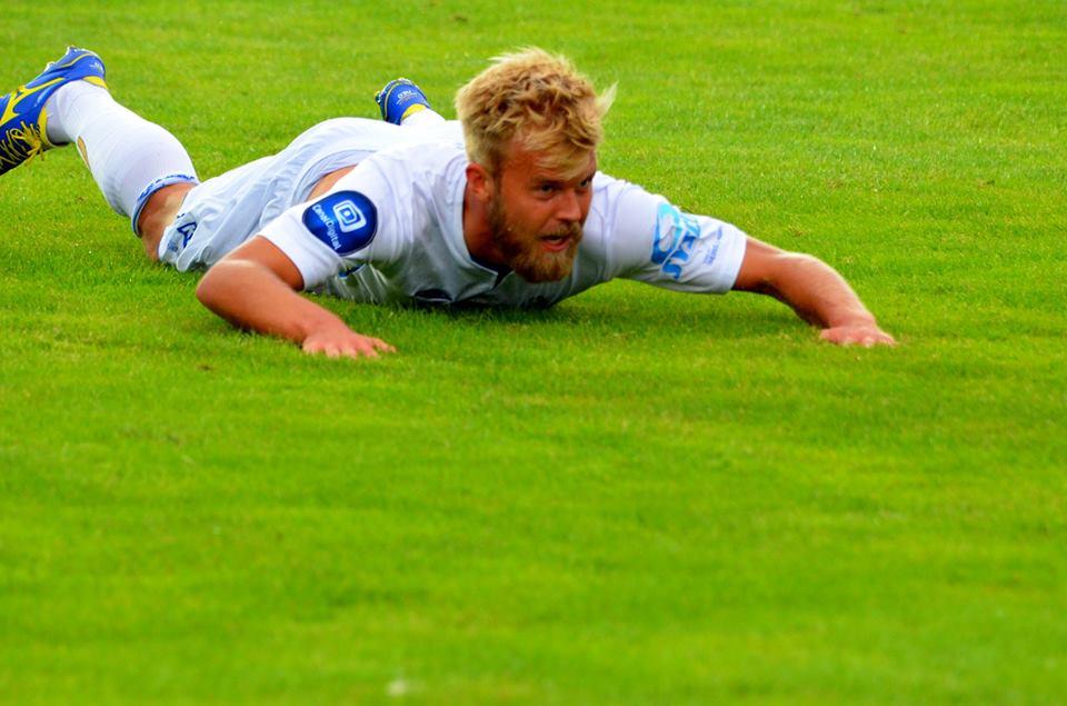 Christian Gytkjær satt inn ballen i nettet for Haugesund og dermed sikret laget han laget nye tre poeng.