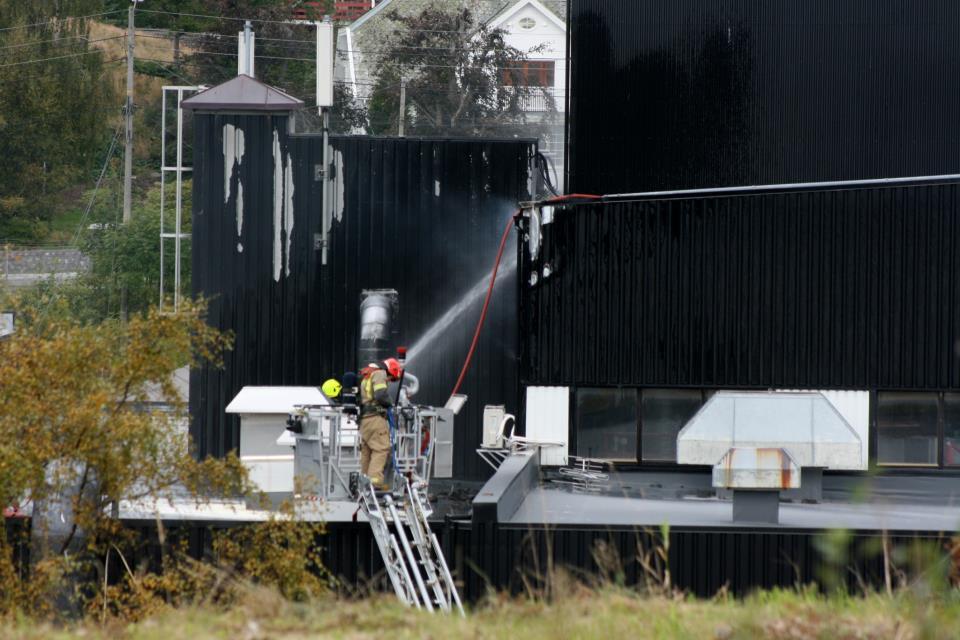 Brann på Fmc biopolymer vormedal