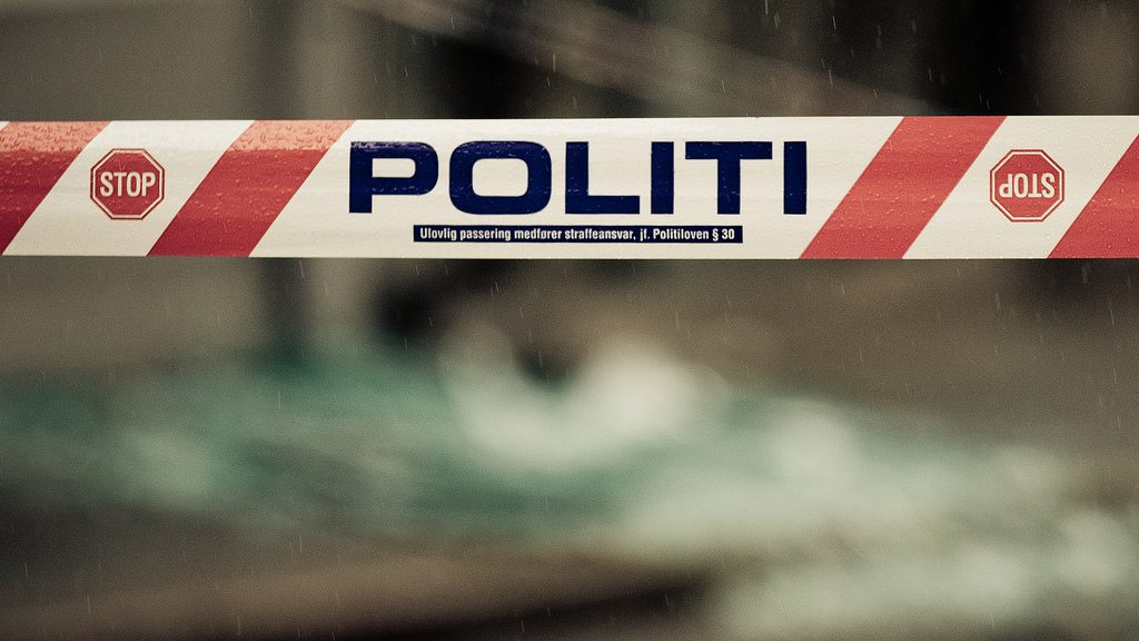 Politi sperring