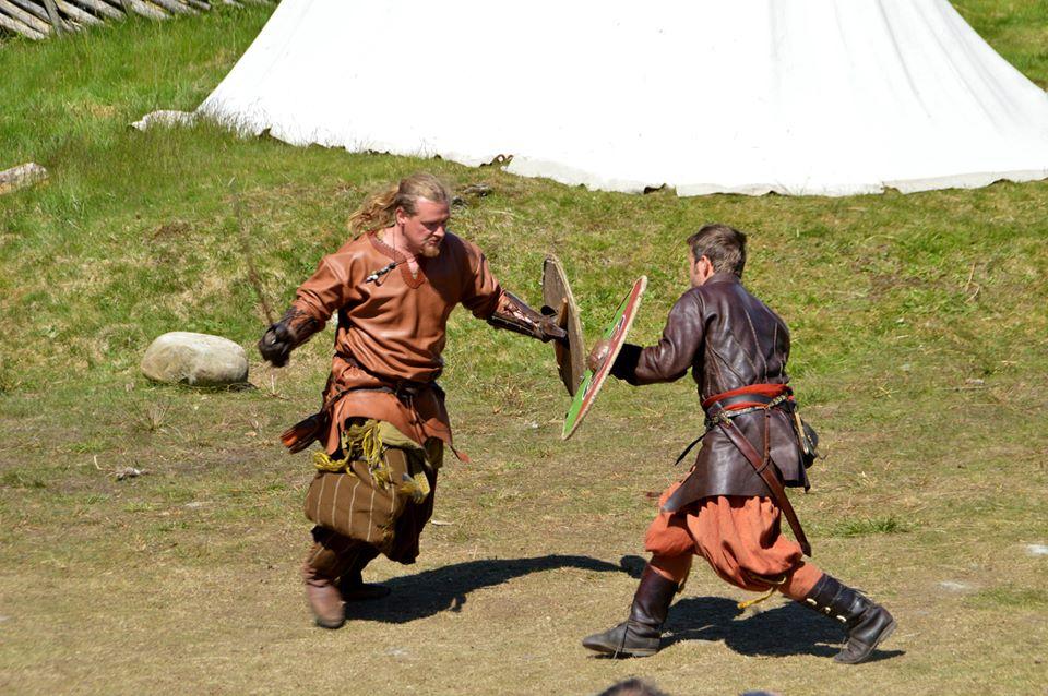 Viking festival kamp