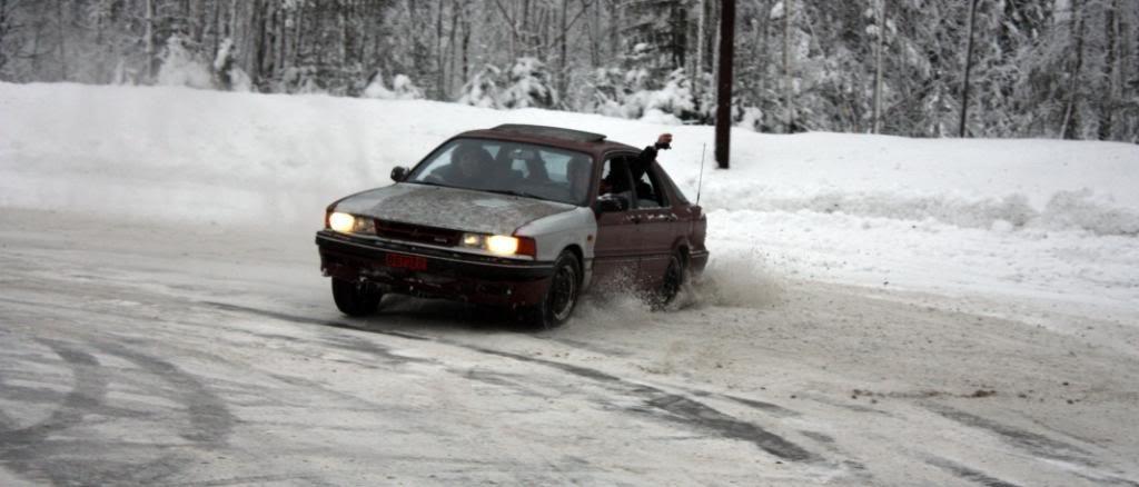 NAF Banen spinning snø glatta