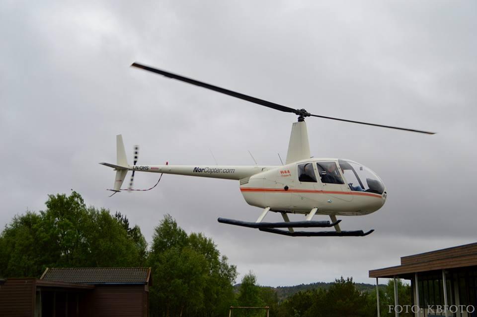 Sveiomerknad Helikopter