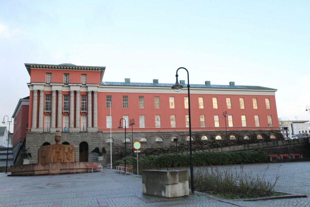 Rådhuset i Haugesund kommune. FOTO: E Solberg
