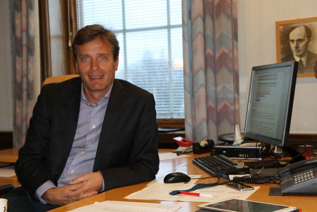 Ole Bernt Thorbjørnsen. Rådmann i Haugesund kommune. FOTO: E Solberg