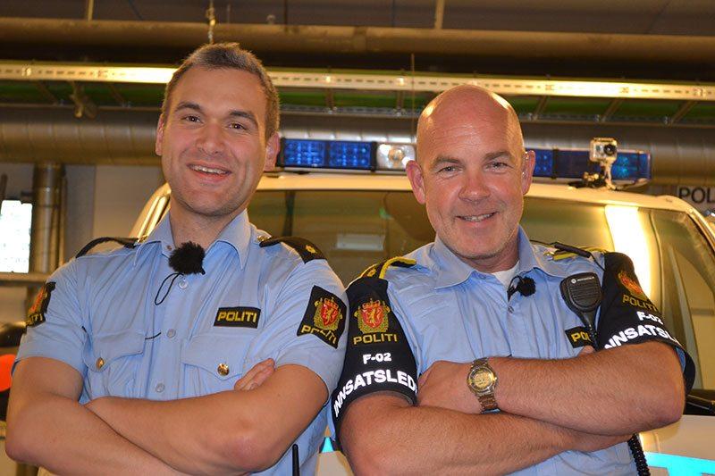 Nattpatruljen med ordenspolitimennene Knut Gjærde og Terje Heldal