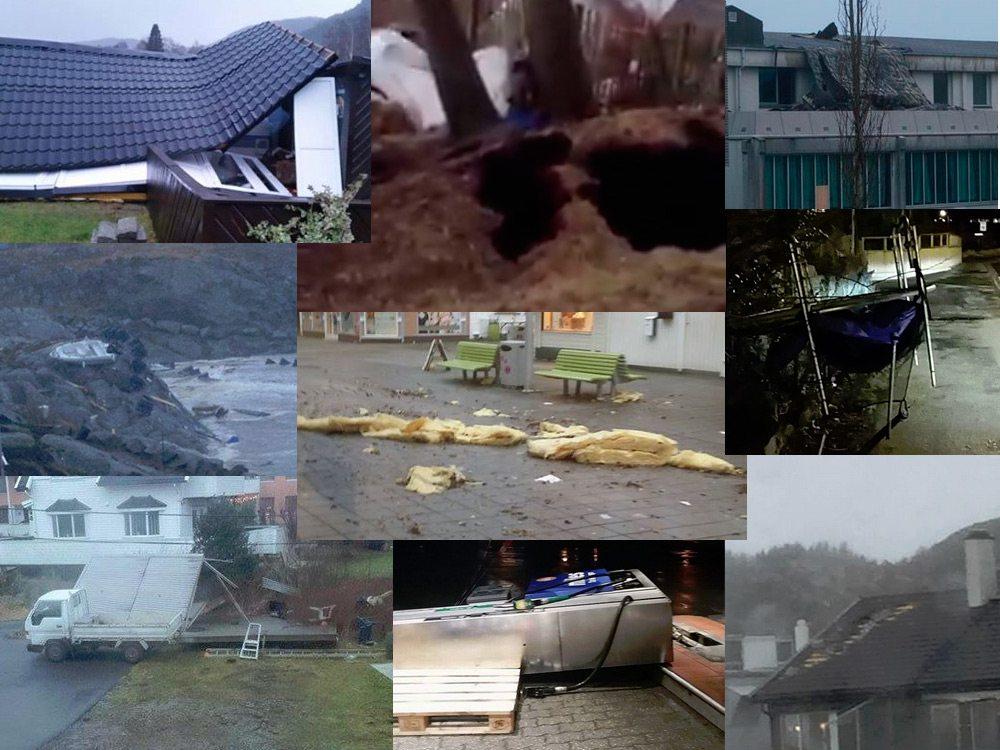 Storm bilder Aktuelt Haugalandet