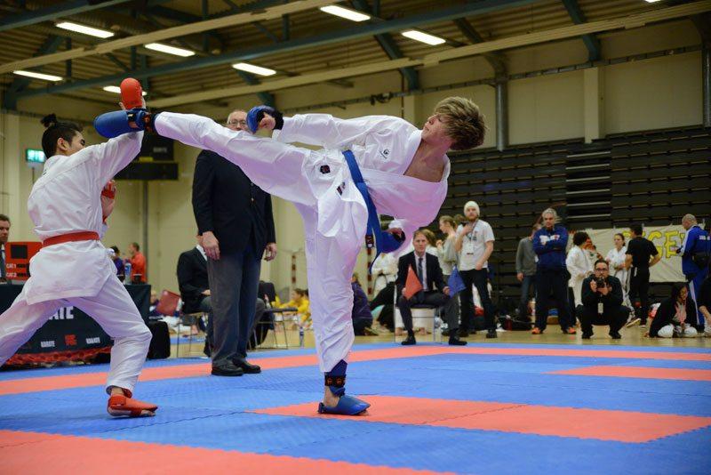 Karate Ruben Vinje Fagerland i kumite