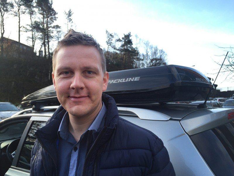 Roger Ytre Hauge i Frende forsikring.