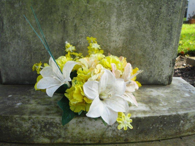 grav blomster