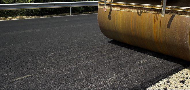 asfalt veiarbeid