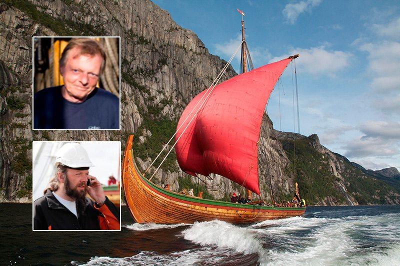 Draken Harald Hårfagre med Björn Ahlander og Terje Andreassen.