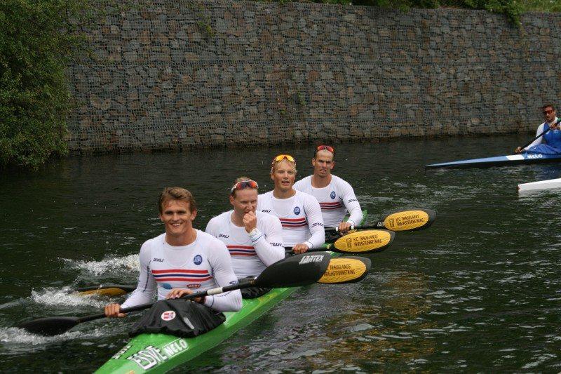 K4 Padling - Lars Magne Ulland, Jo Sondre Solhaug, Lars Hjemdal, Daniel Salbu