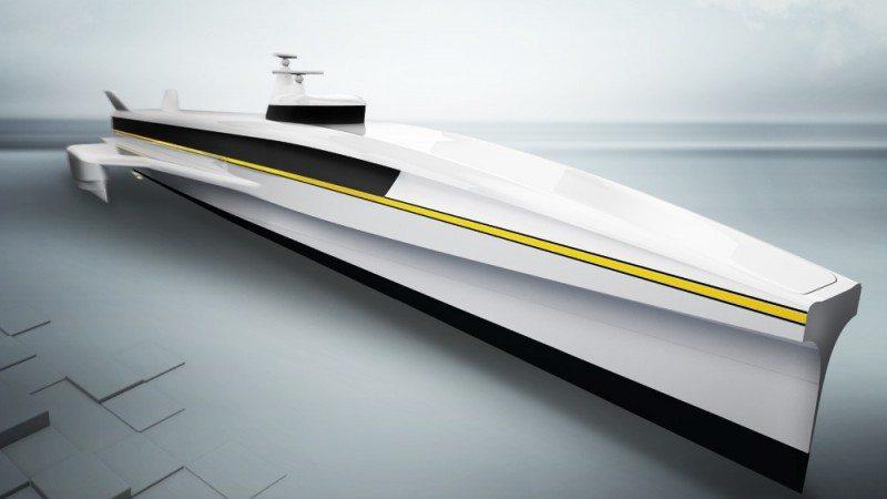 EKER SANDVIK, hurtigbåt
