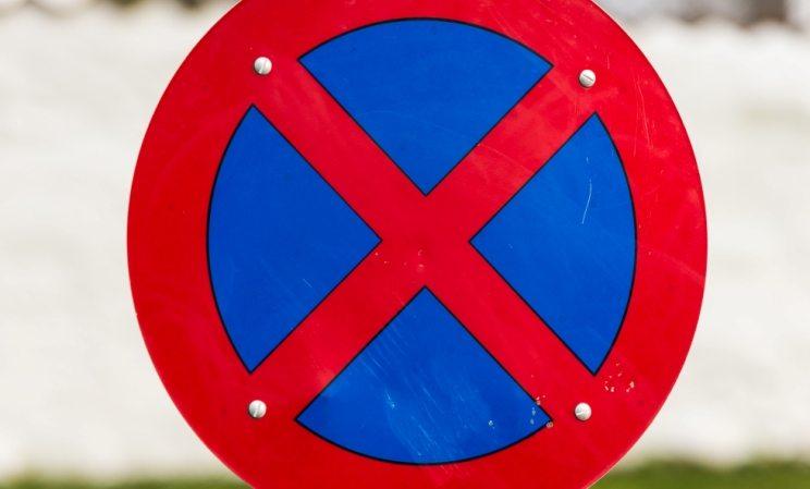 Stopp Forbudt Skilt