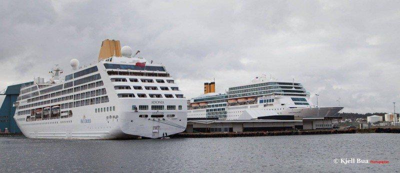 cruisebåt Karmsund havn