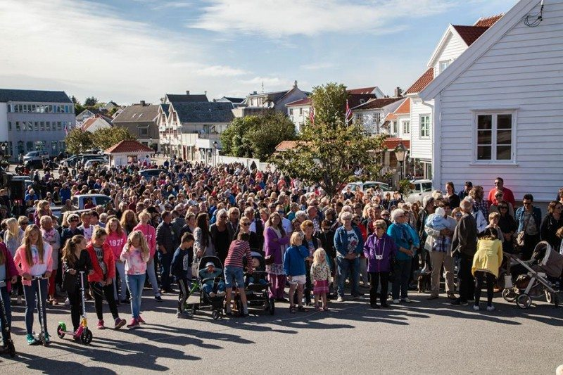 """""""Norges beste sommersted"""" Skudeneshavn. FOTO: Kjell Bua"""