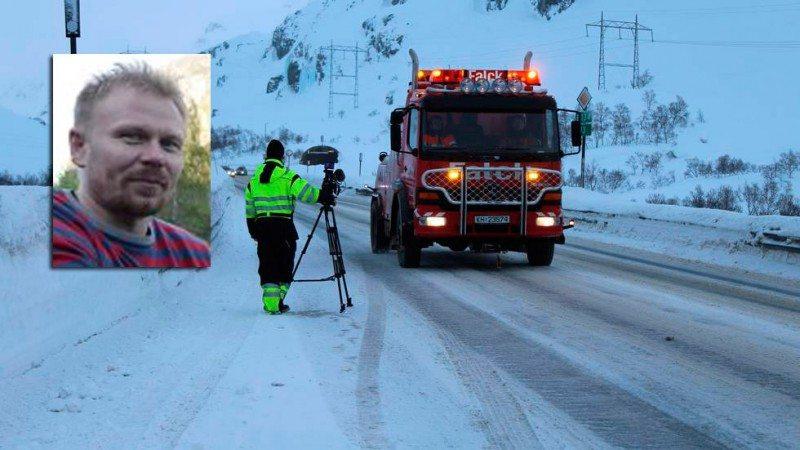 Thord Paulsen National Geographic Channel International har fulgt bilbergingen på Rv7 over Hardangervidda og E134 over Haukelifjell. Serien om «vinterens farligste bilberginger» vil bli sendt i høst. FOTO: NGC