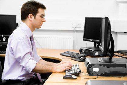 kontor arbeid