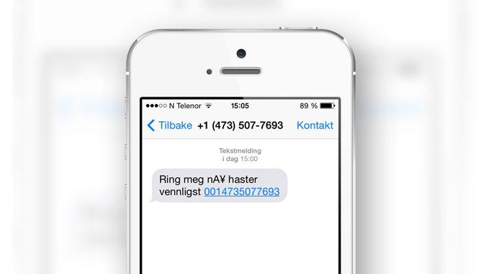 SMS svindel