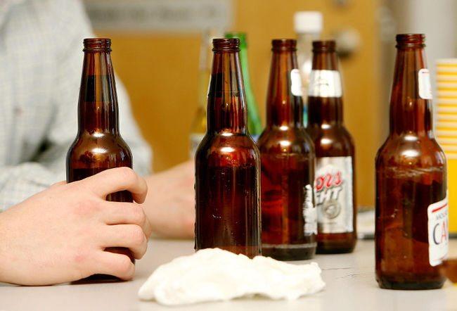 beruset, alkohol, øl