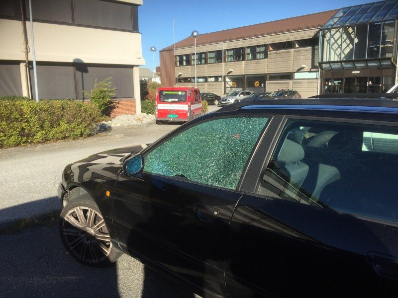 bil skade Kopervik
