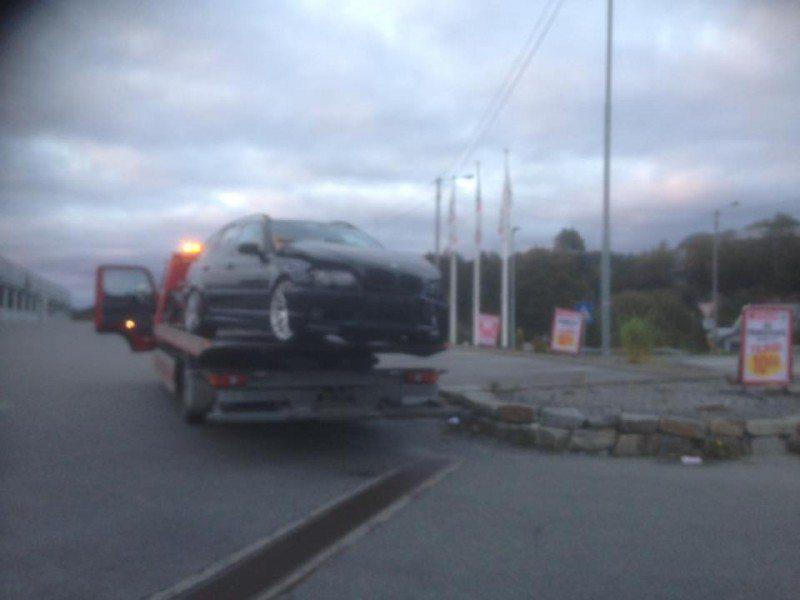 Ulykke Spar i Skåredalen. FOTO: Atle Hugvik