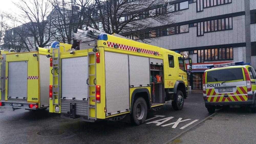 Brann sykehuset i Haugesund