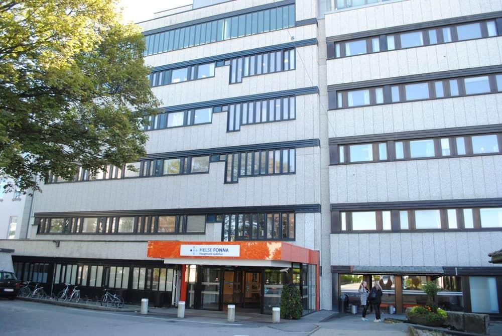 Haugesund sykehus Foto: Daniel Niazi