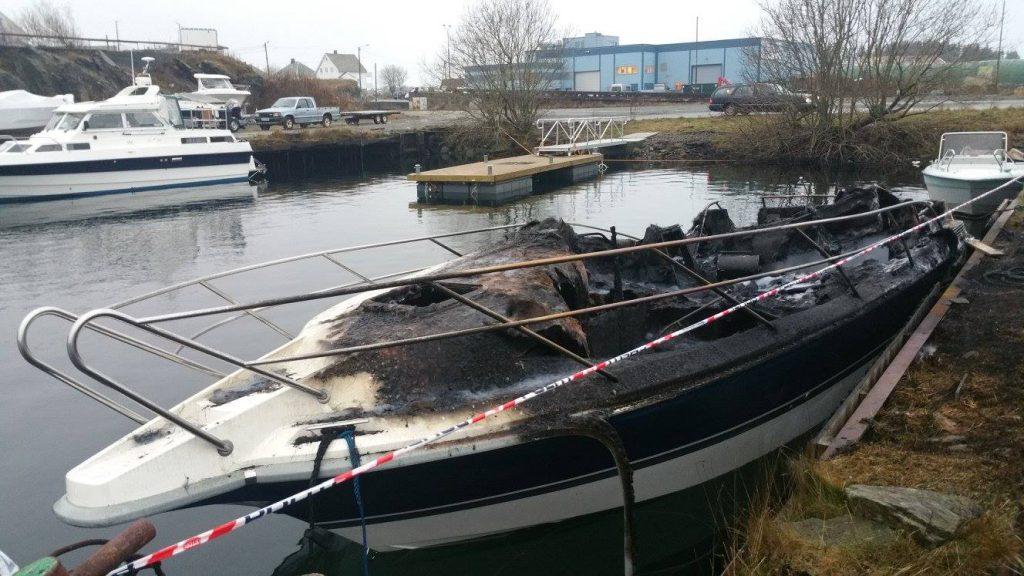 Båtbrann, Haugesund
