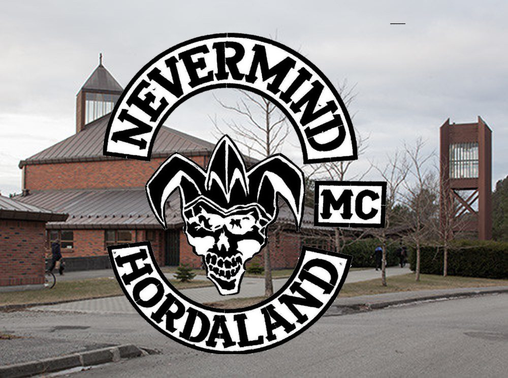 kirke dødninghode MC Stord Nysæter gravplass