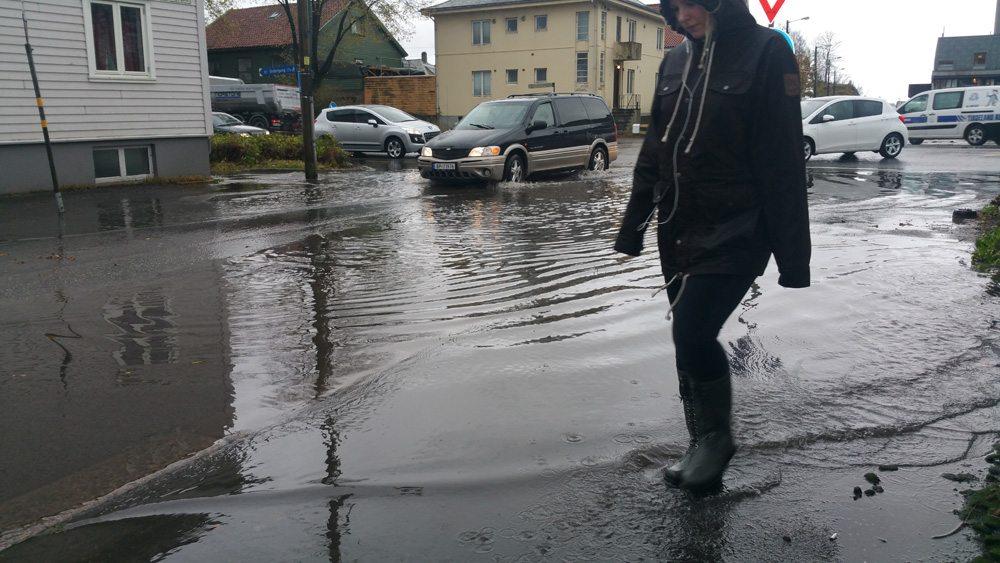 Oversvømmelse Stavangergata