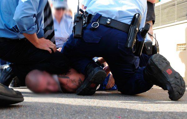 arrestert pågrepet