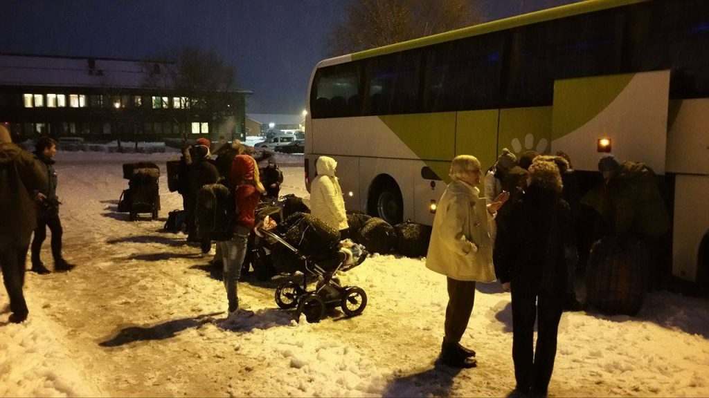 asyl buss Tysvær
