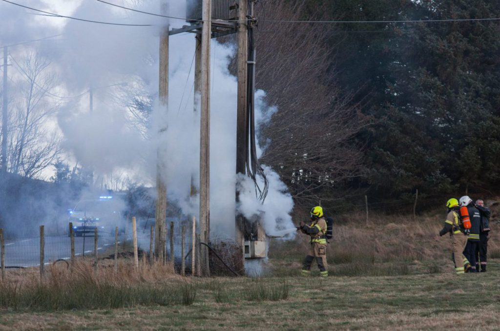 brann strøm koblingsboks