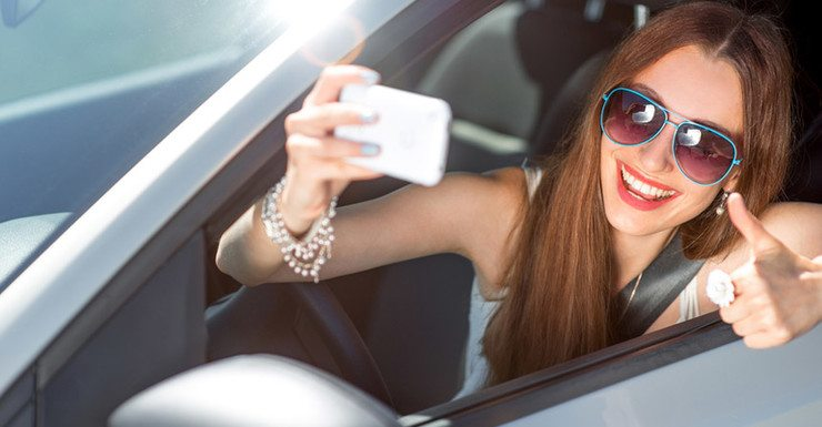 driver selfie