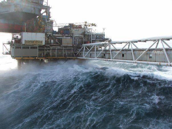 ekkofisk bølger
