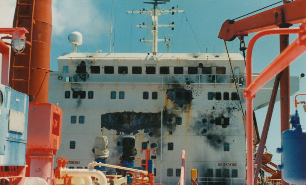 """Havglimt"" ble angrep 22.03.1988"