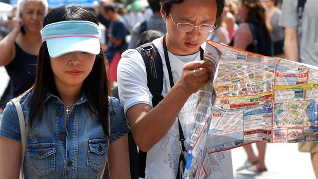 kinesiske turister