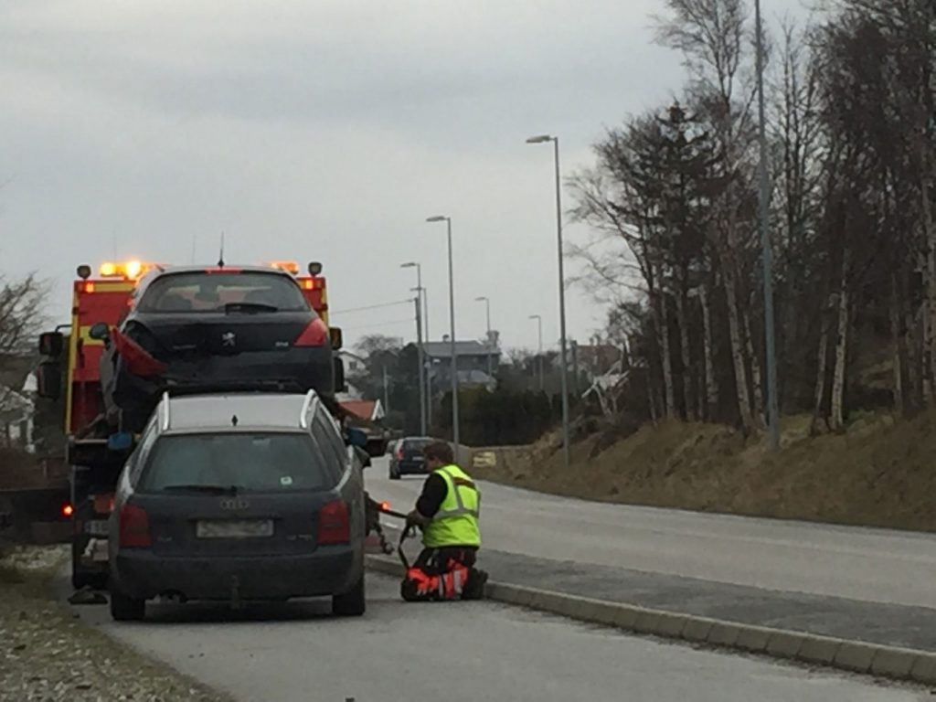 bil trafikk uhell