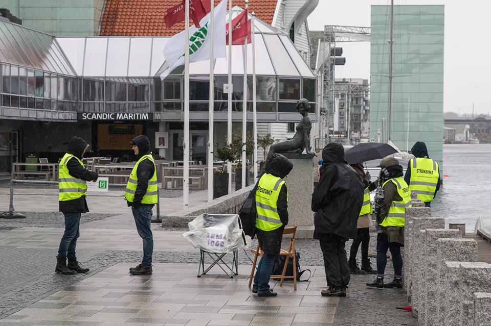 streik hotell Maritim Scandic Kjell Bua