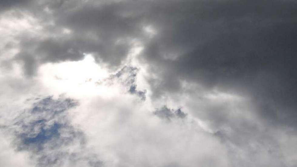 delvis skyet