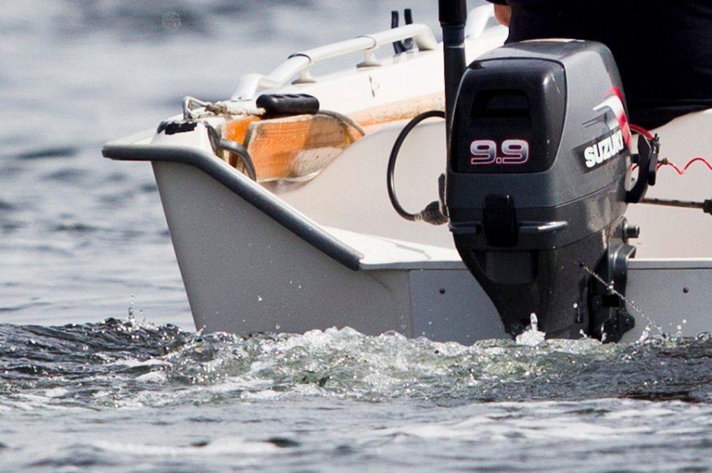 Påhengs, fritidsbåt
