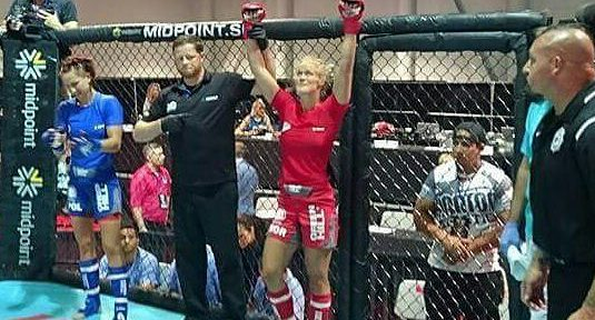 Camilla Mannes MMA Las Vegas
