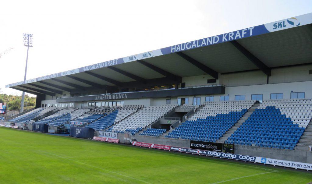Haugesund Stadion Krafttribunen