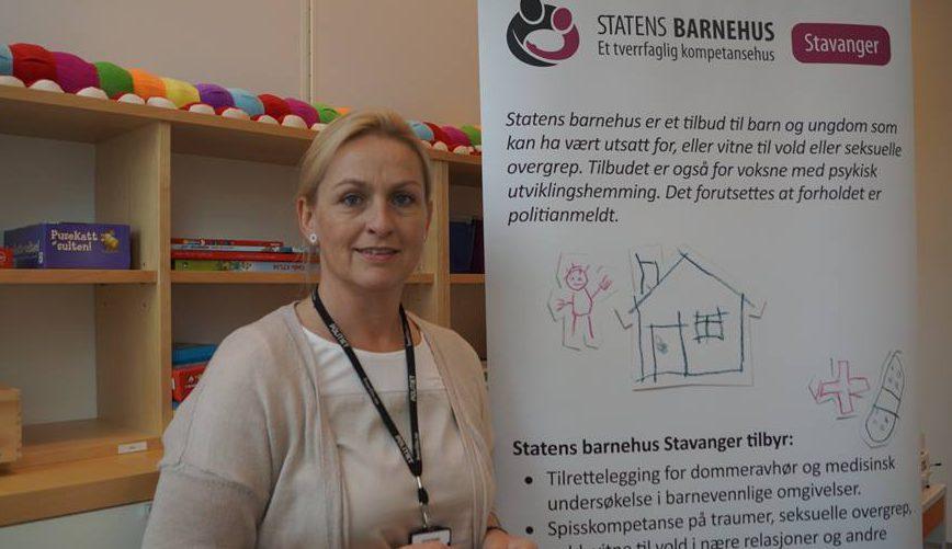 Marianne Haas, leder på Barnehuset i Stavanger.