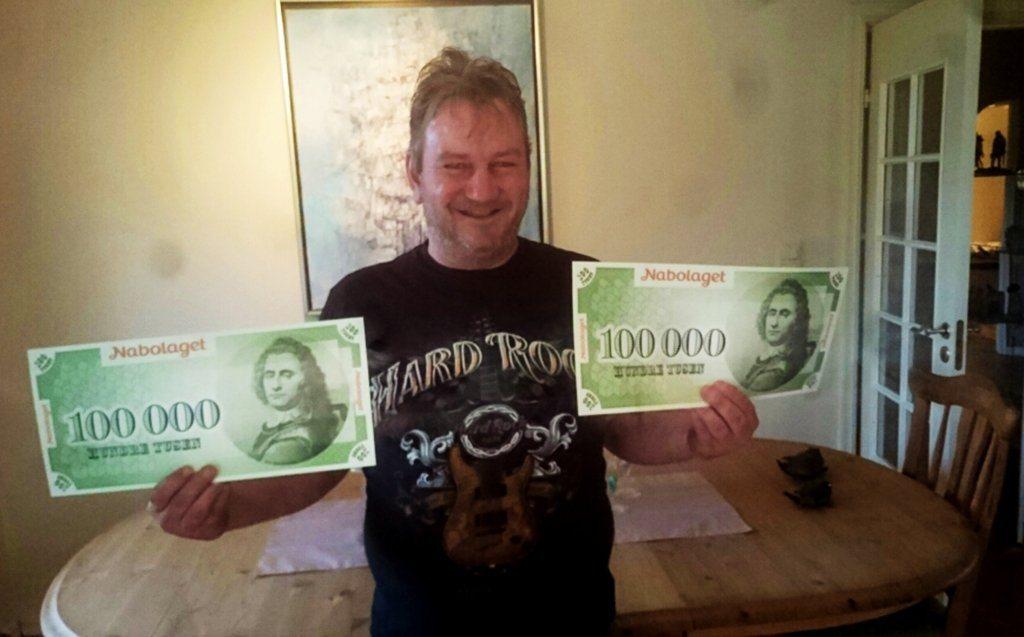 Alf Inge Steinsøy fra Sveio vant i Nabolaget for andre gang på rad